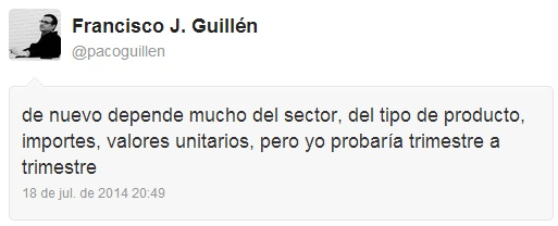 Respuesta de Paco Guillén