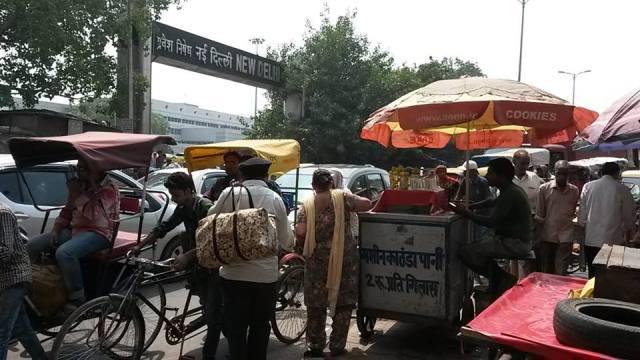 Un día cualquier en Nueva Delhi